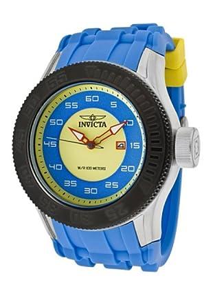 Invicta 11943 - Reloj de Caballero cuarzo poliuretano Azul