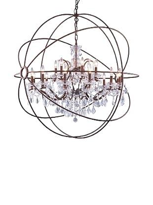 Urban Lights Hemisphere Pendant, Large, Bronze