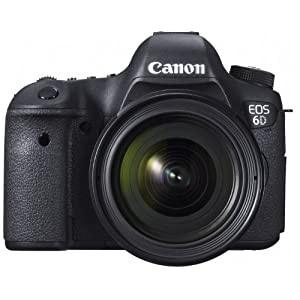 Canon デジタル一眼レフカメラ EOS 6D・EF24-70L IS レンズキット 約2020万画素フルサイズCMOSセンサー DIGIC5+(プラス) EOS6D2470ISLK