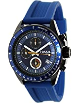 Fossil Chronograph Blue Dial Men's Watch - CH2879