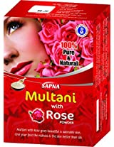 Sapna Multani mitti with rose powder 5X100gm