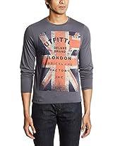 Pepe Jeans Men's Round Neck Cotton T-Shirt