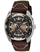 Seiko Analog Brown Dial Men's Watch - SUN061P1