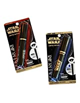Covergirl Star Wars Very Black Mascara Bundle - 2 Items: 1 Tube of Light Side and 1 Tube of Dark Side