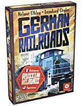 German Railroad Board Game