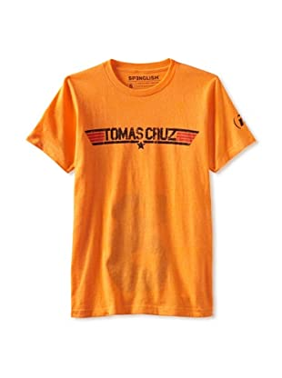 Spenglish Men's Tomas Cruz T-Shirt (Bright Orange)