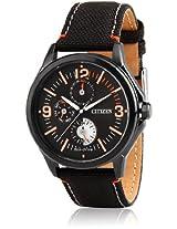 Ap4005-11E Black/Black Analog Watch CITIZEN