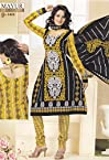 Designer Cotton Unstitched Salwar Dress Materials