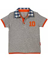 Oye Polo T Shirt With Contrast Collar