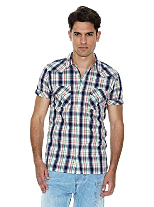 Salsa Jeans Camicia Check (Blu/Rosso/Bianco)