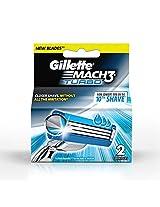 Gillette Mach3 Turbo Blades - 2 Cartridges