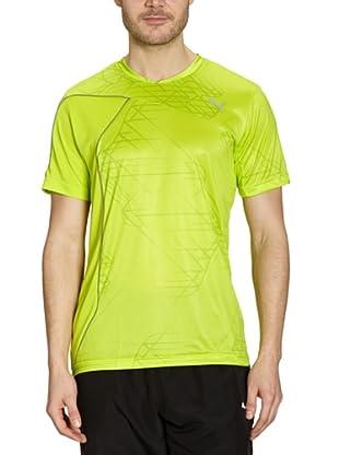 Puma T-Shirt Training Graphic (lime punch)