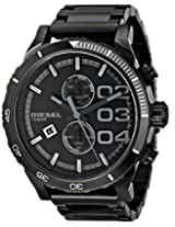 Diesel Double Dow Analog Black Dial Men's Watch - DZ4326