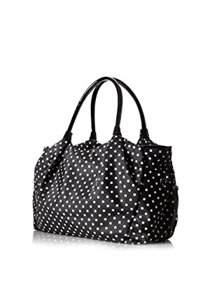 Kate Spade Women's Stevie Baby Bag Satchel, Black Dots