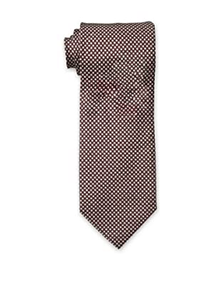 Dunhill Men's Dots Tie, Brown