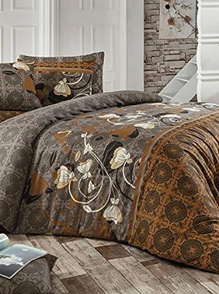 Colors Couture Bettdecke und Kissenbezug Fluance