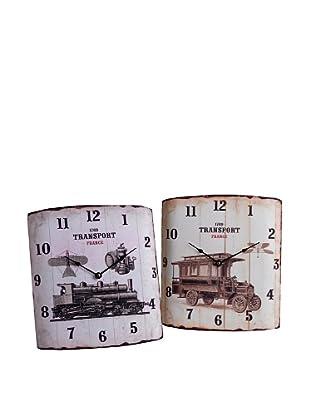 Amadeus Lote 2 Relojes Tren/Coche