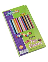 Chenille Kraft Big Box of Pipe Cleaners Jumbo Stems Assortment Idea Book (150-Piece)