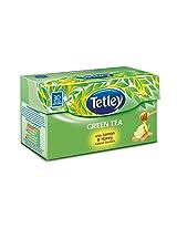 Tetley Green Tea, Lemon & Honey (30 Tea Bags)