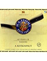 60 Years of Rajshri: A Retrospect A Hand Picked Collection of Greatest Songs (Set of 4 Audio CDs)