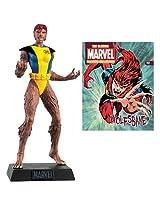 Marvel Comics Wolfsbane Collector Magazine with Figure