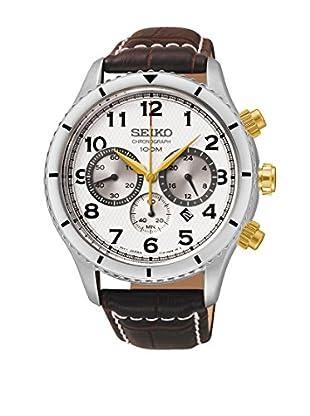 Seiko Reloj de cuarzo SRW039P1 Marrón 43  mm