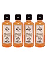 Khadi Pure Herbal Reetha Shampoo Sls-Paraben Free - 210ml (Set of 4)