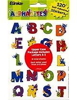 Eureka Alphabites Stickers, 120 Per Pack