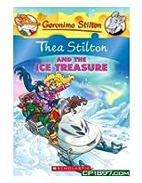 Scholastic - Thea Stilton and the Ice Treasure A Geronimo Stilton Adventure Book