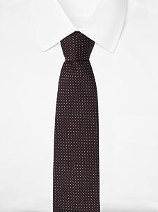 Pal Zileri Men's Mini-Square Tie (Burgundy)
