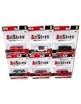 New 1:64 All Stars Ferrari Release 2 Diecast Model Car By Maisto Set Of 6 Cars