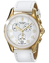 Victorinox Women's 241511 Analog Display Swiss Quartz White Watch