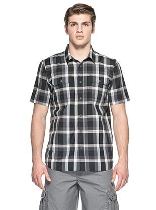 Vans Camisa Averill Wovens (Negro / Gris)