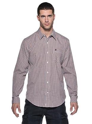 Timberland Camisa Claremont (Naranja/Violeta)