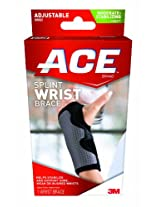 Ace Splint Wrist Brace, Reversible, One Size Adjustable