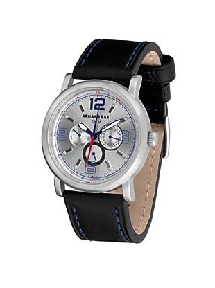 ARMAND BASI A0891G01 - Reloj de Caballero movimiento de cuarzo con correa de piel Negra