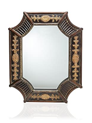Orion Mirror, French Brown/Antique Bronze
