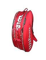 Wilson Federer Le W 15 Pack Bag (Red)