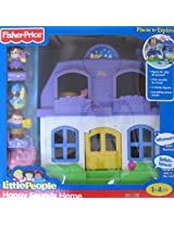 Little People HAPPY SOUNDS HOME w Sounds & 3 FIGURES Fisher Price (2009)