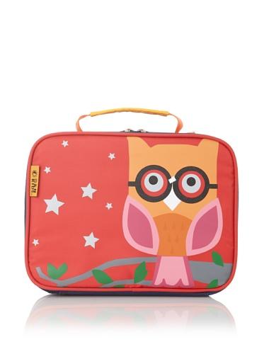 D&N Kids Owl Lunch Bag, Orange