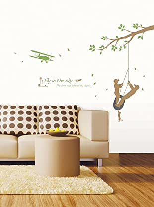 Ambiance Live Vinilo Adhesivo Fly In The Sky Wall Decal