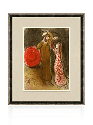 Chagall, Ruth and Boaz Meet