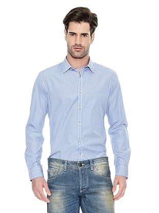 Liu Jo Camisa Manga Larga (Azul / Blanco)