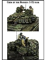 Evolution Miniatures 1:35 T 72 Crew 3 Resin Figures Kit #Em 35115