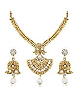 Meenaz Traditional Necklace Sets Jewellery Sets Gold Plated With Earrings For Women,Girls NL113