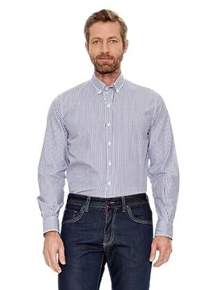 Titto Bluni Camisa Rayas Kane (Azul)
