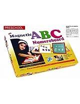 Abc Numero Board Magnetic PreSchool Game