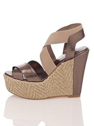 Apepazza Keil-Sandalette Elinor (bronze/graubraun)