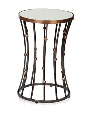 Prima Design Source Wire and Ball Accent Table, Copper