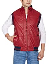 Fort Collins Men's PU Leather Jacket